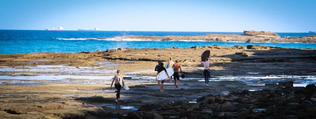 Surfing trip to the Royal National Park by Henry Brydon