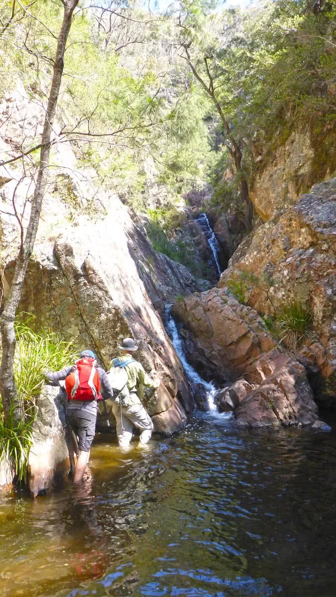 Exploring Galong Creek // Blue Mountains (NSW), photo by Caro Ryan, lotsafreshair, blue mountains, nsw,