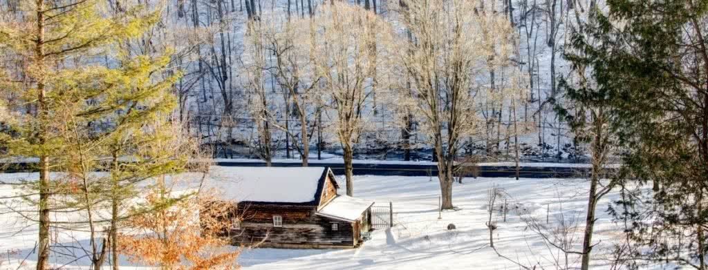 How To Plan the Perfect Cabin Escape In NSW, Henry Brydon, hut, snow, cosy, forest, trees, accommodation