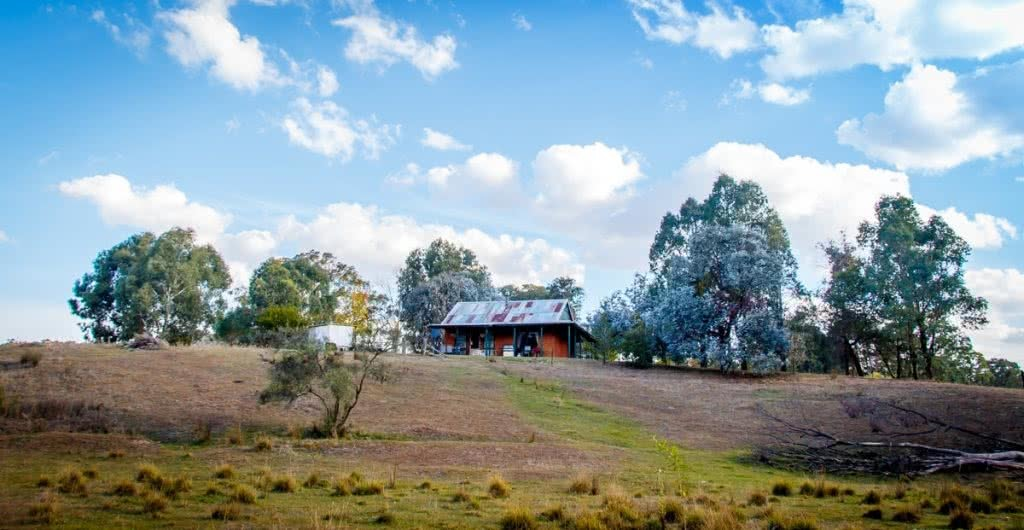 How To Plan the Perfect Cabin Escape In NSW, Henry Brydon, Paddy's River Cottage, Tumbarumba, NSW, cottage, hill, hut, acommodation