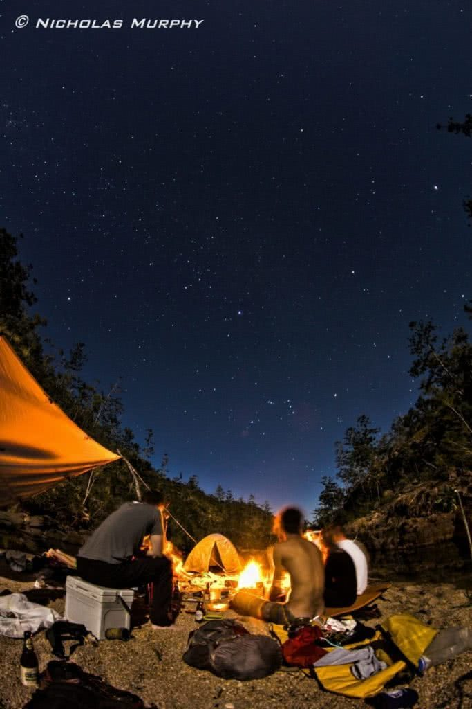 The Extremophiles photo by Nicholas Murphy adventure friends, campfire, stars
