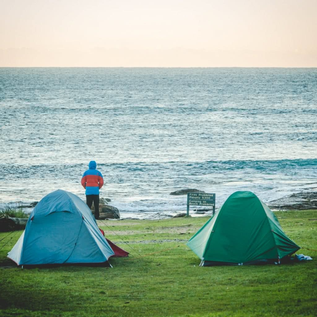 Whiskey & Waves, Henry Brydon, Central Coast, Tents, Waves