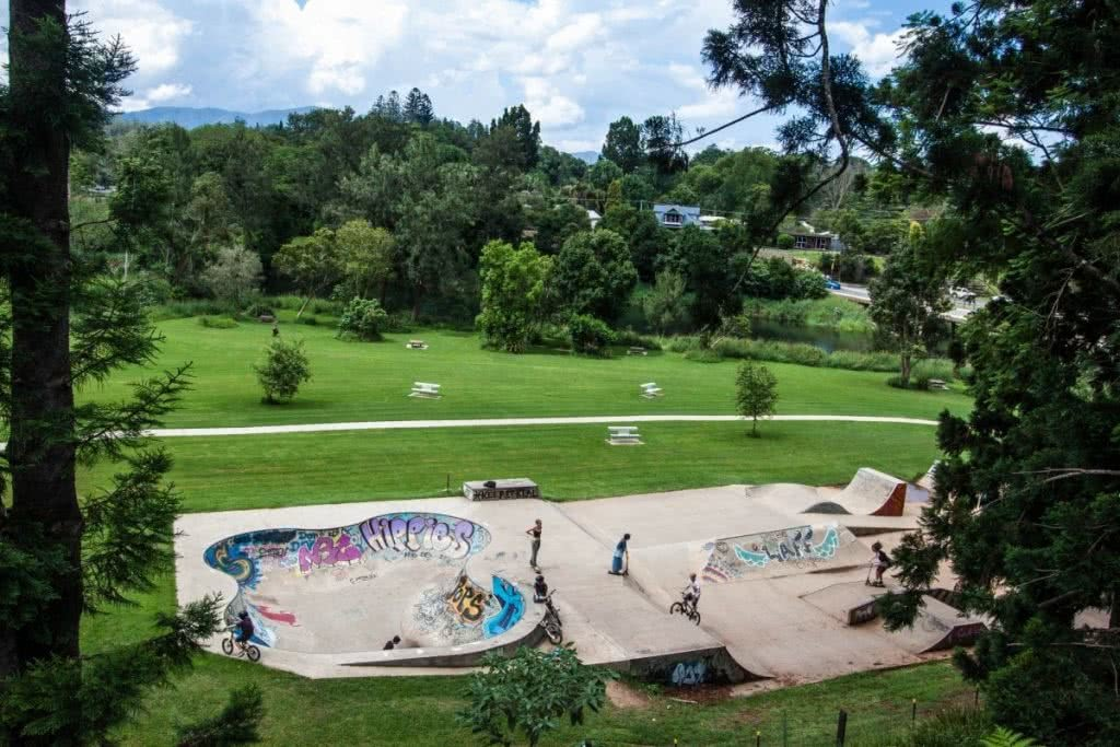 Searching for Alternative Australia // Part 1 Serena Renner, bellingen skate bowl, park, graffiti