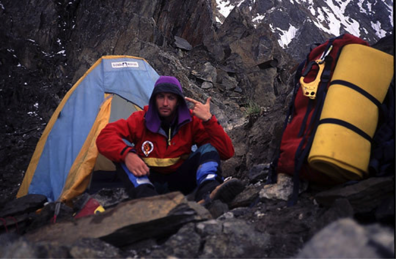 Interview With An Antarctic Mountaineer // Damien Gildea mountain, tent