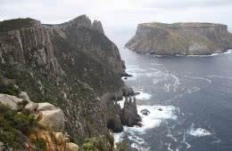 Your First Multi-Day Hike? // Three Capes Track (TAS), Caroline Packer, headland, ocean, whitewater, channel
