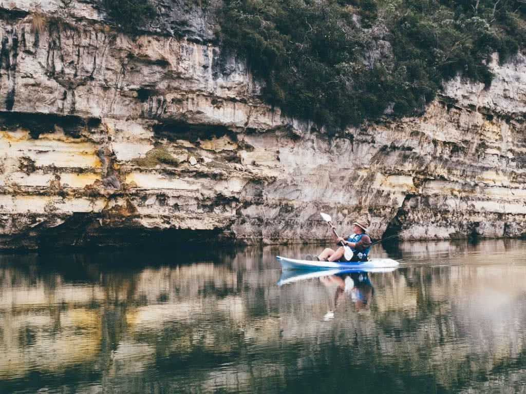 kayaking the lower glenelg, jack brookes, gorge, kayak
