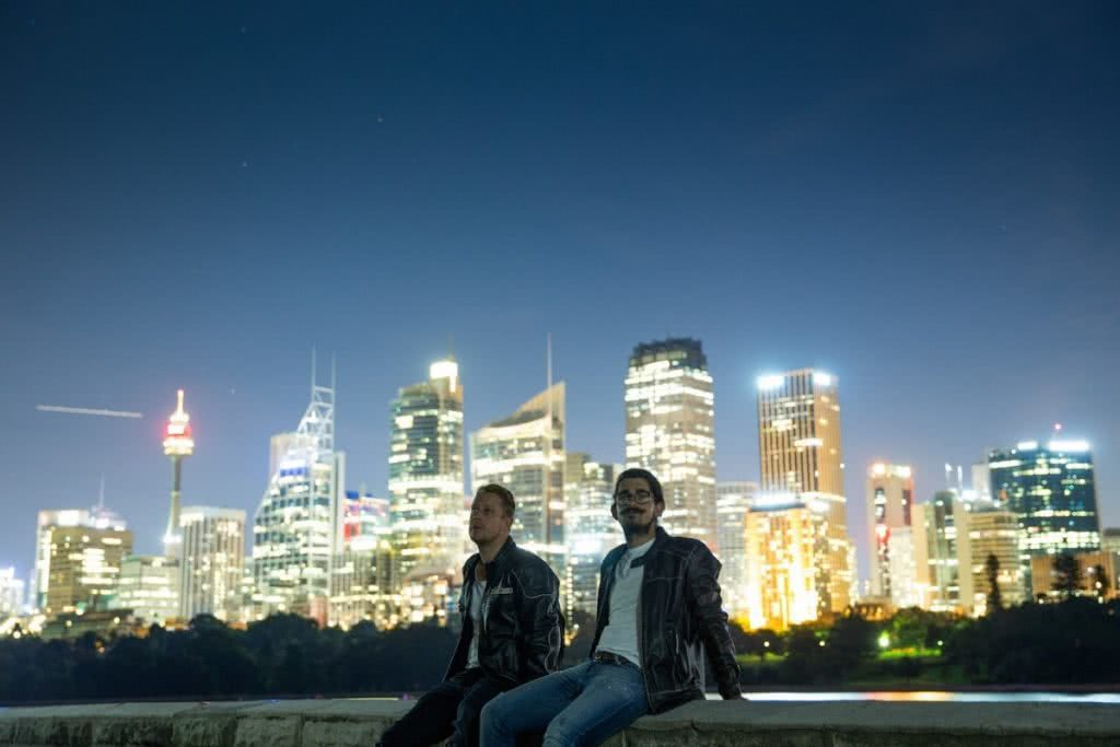 An Urban Adventure // Sydney (NSW) Henry Brydon, Photo Daniel Bolt, city lights, friends, skyline, night