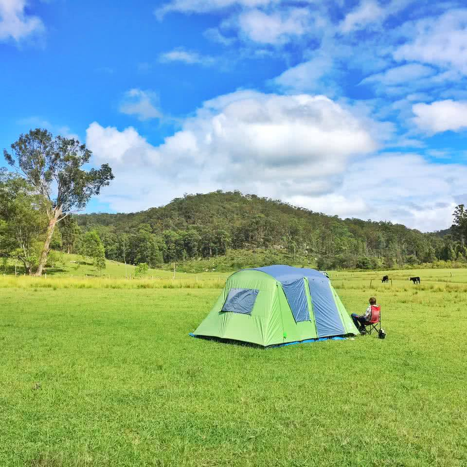 Cowboys and the Hunter Valley (NSW) Angharad Rees field camping