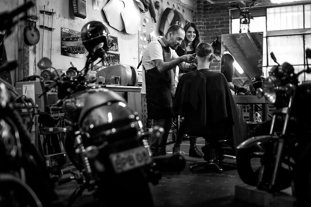 Another Urban Adventure // Melbourne (VIC), Henry Brydon, motorbike, haircut, mirror