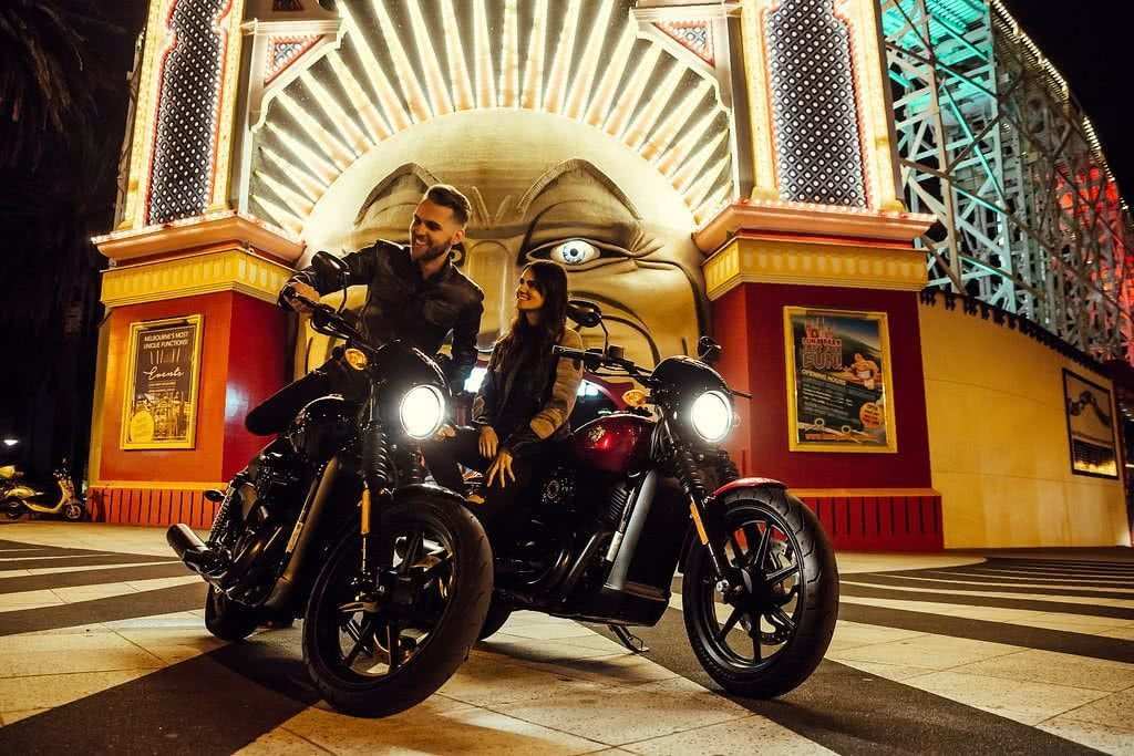 Another Urban Adventure // Melbourne (VIC), Henry Brydon, motorbike, leather, circus