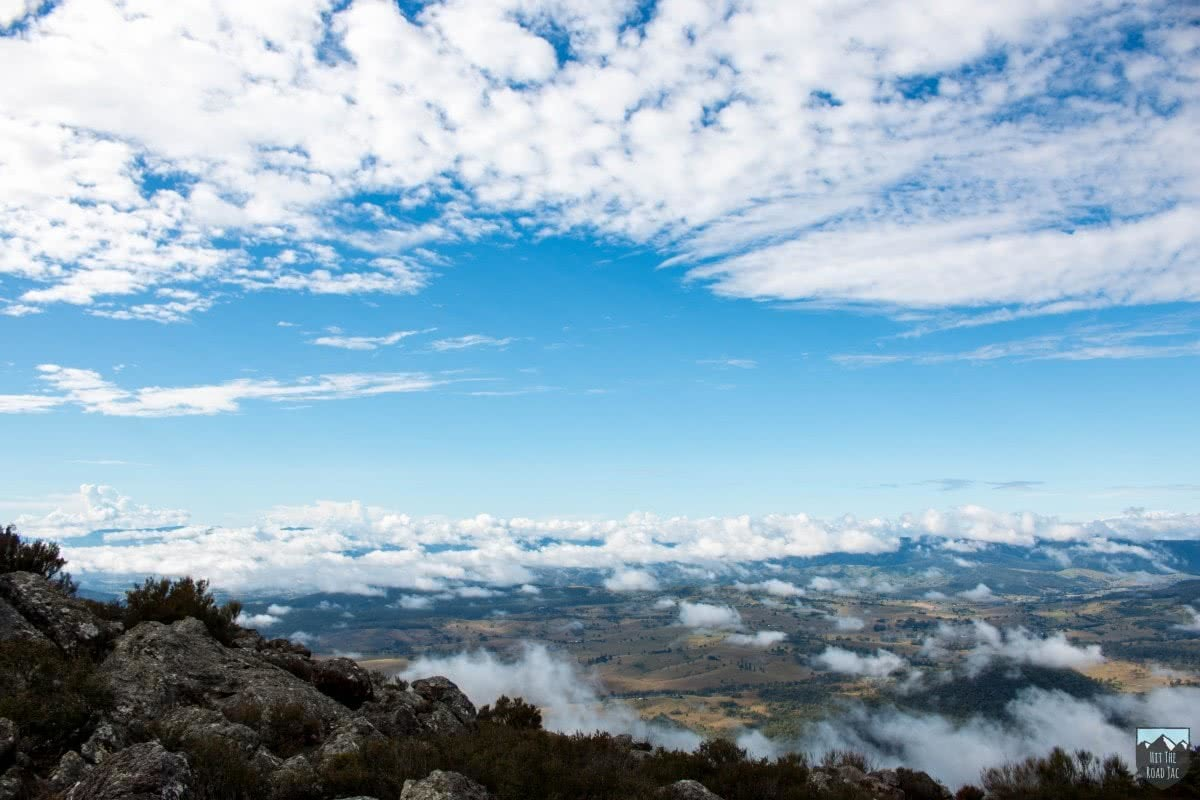 Jacquie Tapsall cotswald track Clouds sky viewpoint mountains scenic rim qld