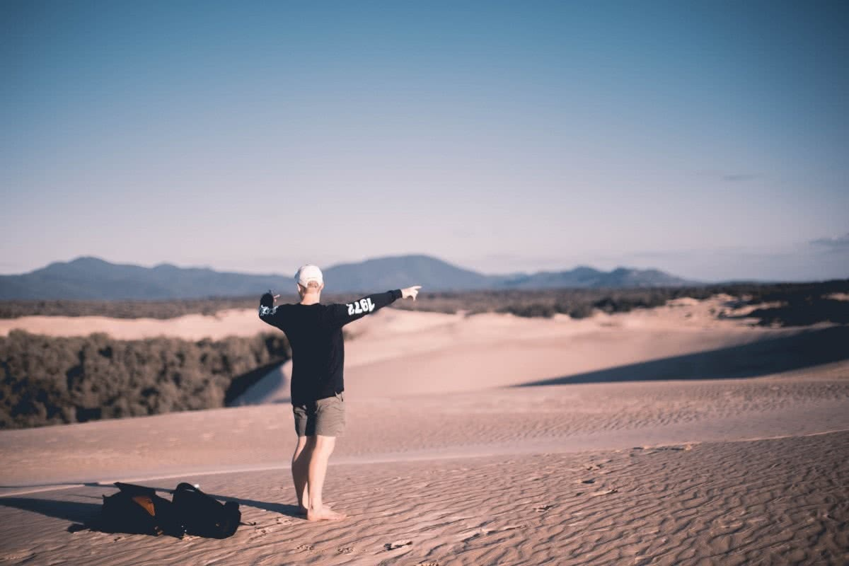 Sam Perkins Big Drift Wilsons Promontory National Park Victoria Sand dunes