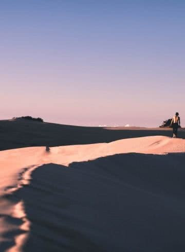 Sam Perkins Big Drift Wilsons Promontory National Park Victoria Sand dunes sunset