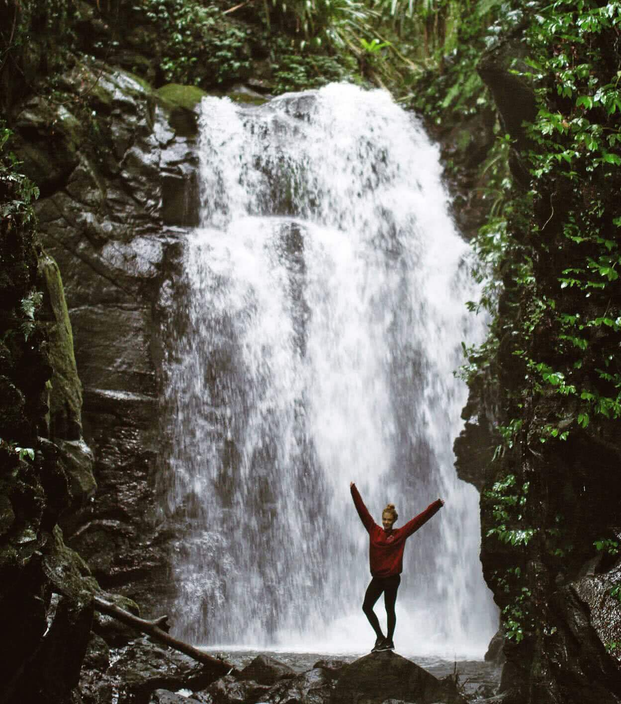 Emily-Ann Marskell lamington national park gold coast hinterland waterfall wild swimming