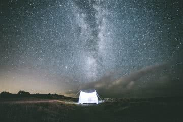 Exploring Northern NSW In 48 Hours Elliot Ferne tent astrophotography milky way