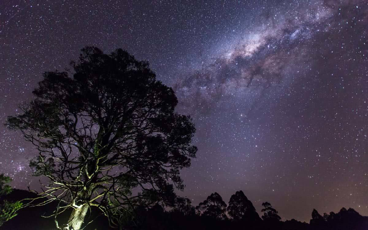Jake Plumridge Otways winter snow vic victoria melbourne astrophotography stars milky way
