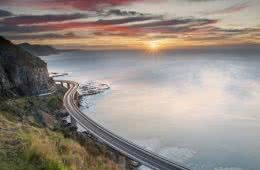 Ed Dallimore Seacliff Bridge south coast nsw sun rise