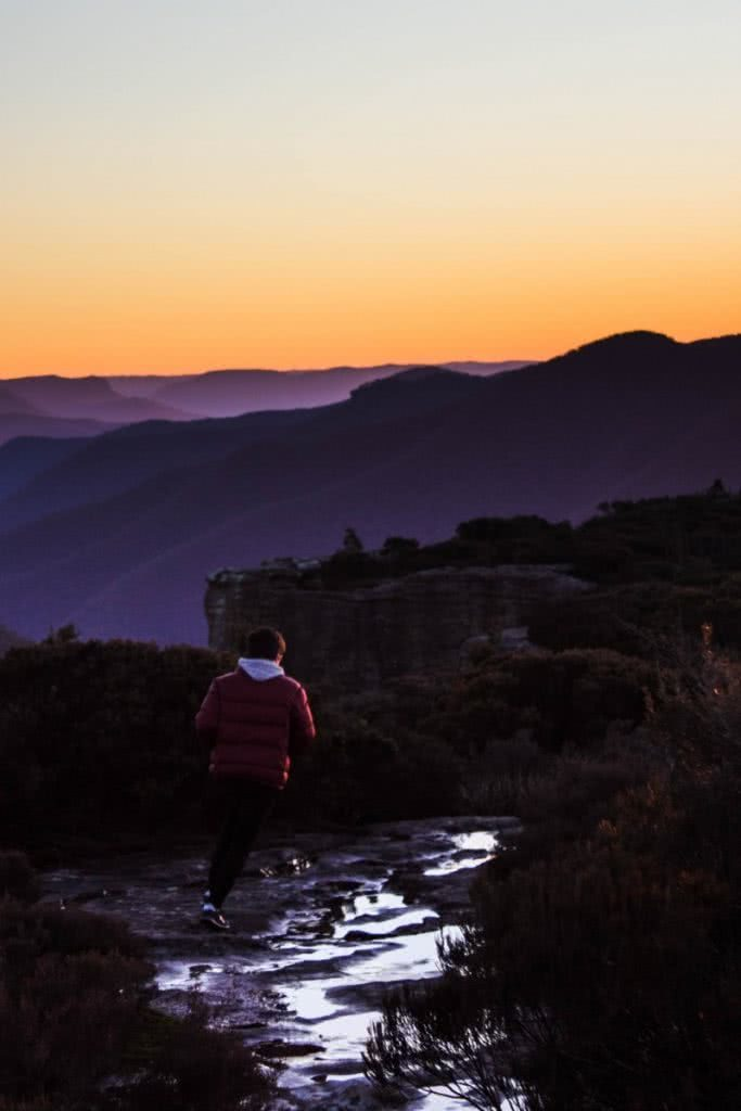 Walking the Walls // Kanangra-Boyd NP (NSW) Lachie Firmstone mountain sunrise hiker