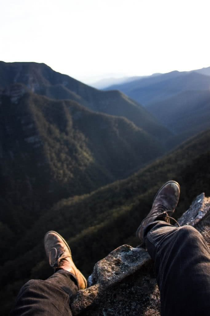 Walking the Walls // Kanangra-Boyd NP (NSW) Lachie Firmstone mountain view boots