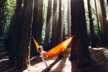 jack j brookes hammock relaxing first time campers