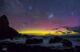 Chris Langton Cape Woolamai Victoria Vic sunset astrophotography