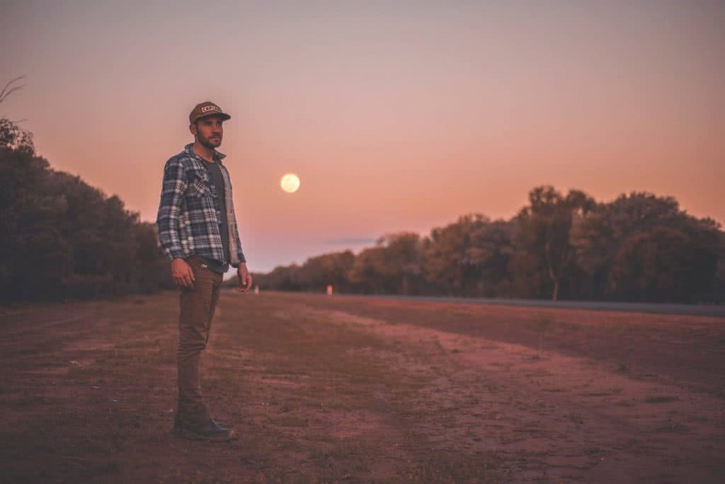 An Epic Outback Weekend Road Trip to Cunnamulla (NSW) Michael Harris road sunset moon