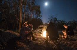 An Epic Outback Weekend Road Trip to Cunnamulla (NSW) Michael Harris campfire moon