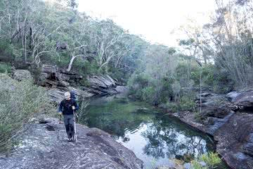 Off Track in the Royal National Park (NSW) James Stuart creek hike