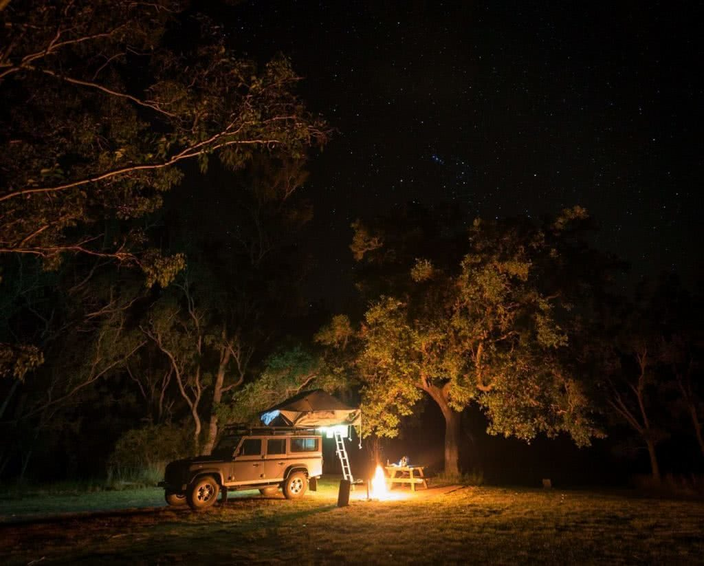 Off-Road Adventures in Oxley Wild Rivers National Park (NSW) Kate Miles campfire 4wd