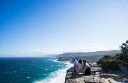 Cliff Giants of The Northern Illawarra (NSW) Brendon Plaza cliff ocean lookout
