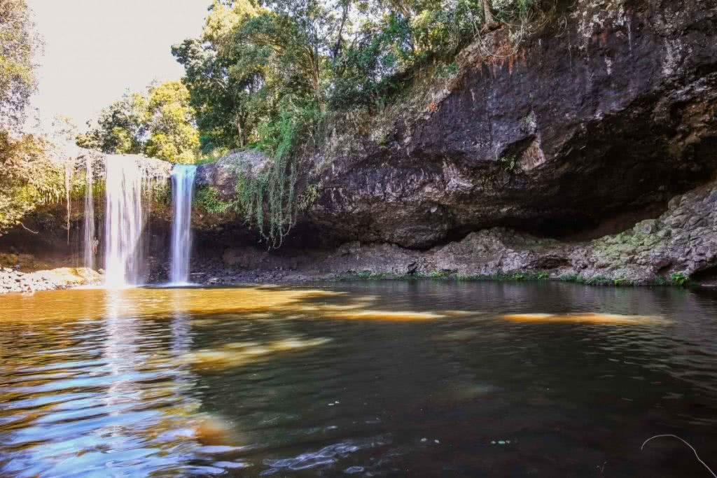 Byron Bay // Caves, Waves & Waterfalls (NSW) Scout Hinchcliffe, killen-falls, waterfall, swimming hole