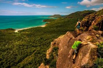 mike gaia Thorsborne Trail // Hinchinbrook Island (QLD) queensland rock scrambling hero