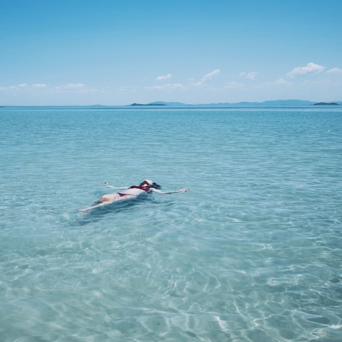 Harry Candlin capricorn road trip QLD island keppel swimming water paradise