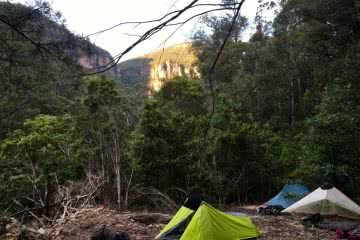 Lower Grose // A Wilderness River on the Edge of Sydney (NSW) Paul Griffiths camp tent valley