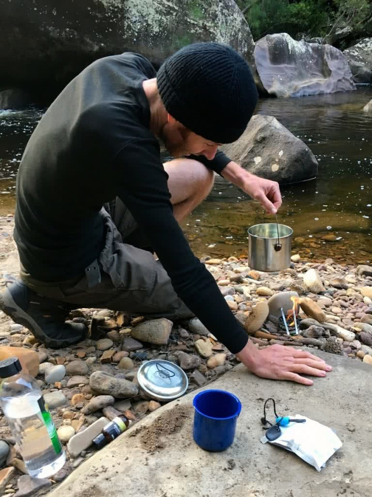 Lower Grose // A Wilderness River on the Edge of Sydney (NSW) Paul Griffiths camp stove cooking