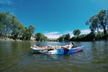 kayaking Murrumbidgee river