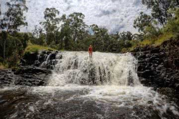 Snowy Mountain's Best Kept Secret // Paddys River Falls (NSW) Tiffany Hulm waterfall
