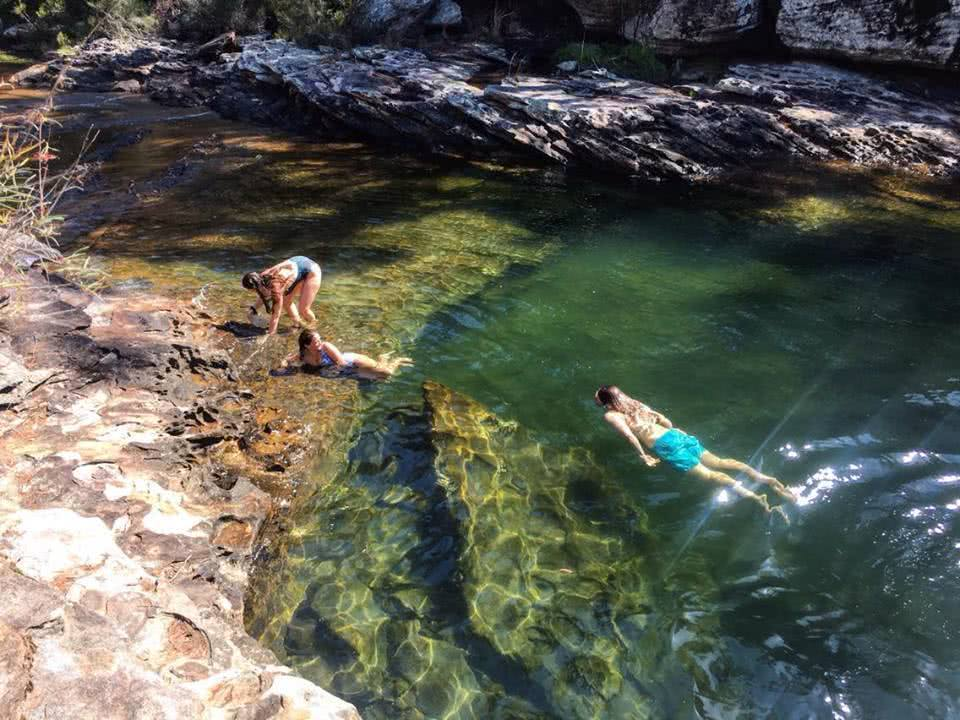 A Mermaid's Fantasy // South West Arm Pool (NSW) Tiffany Hulm wild swimming