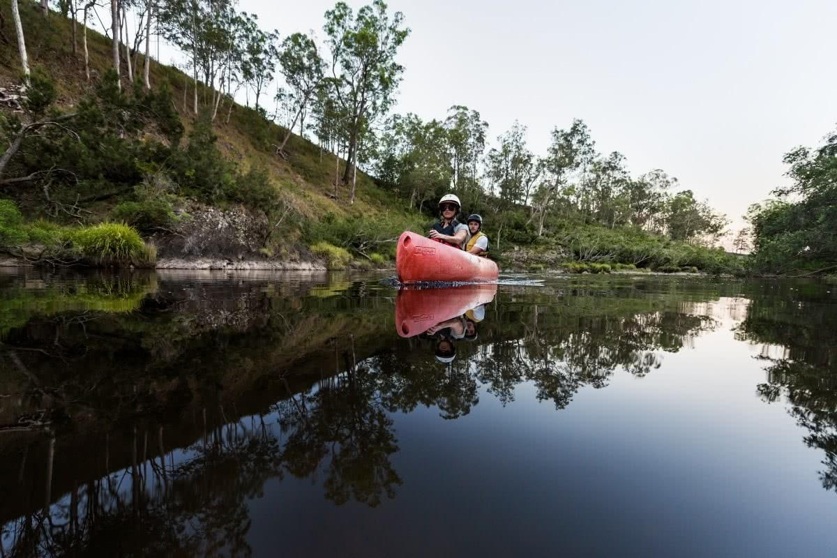 Packing List For A Canoe Adventure Henry Brydon canoe trip clarence valley river paddle