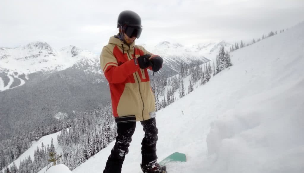 Alex Parsons Snowboarding Gear and Equipment snow winter