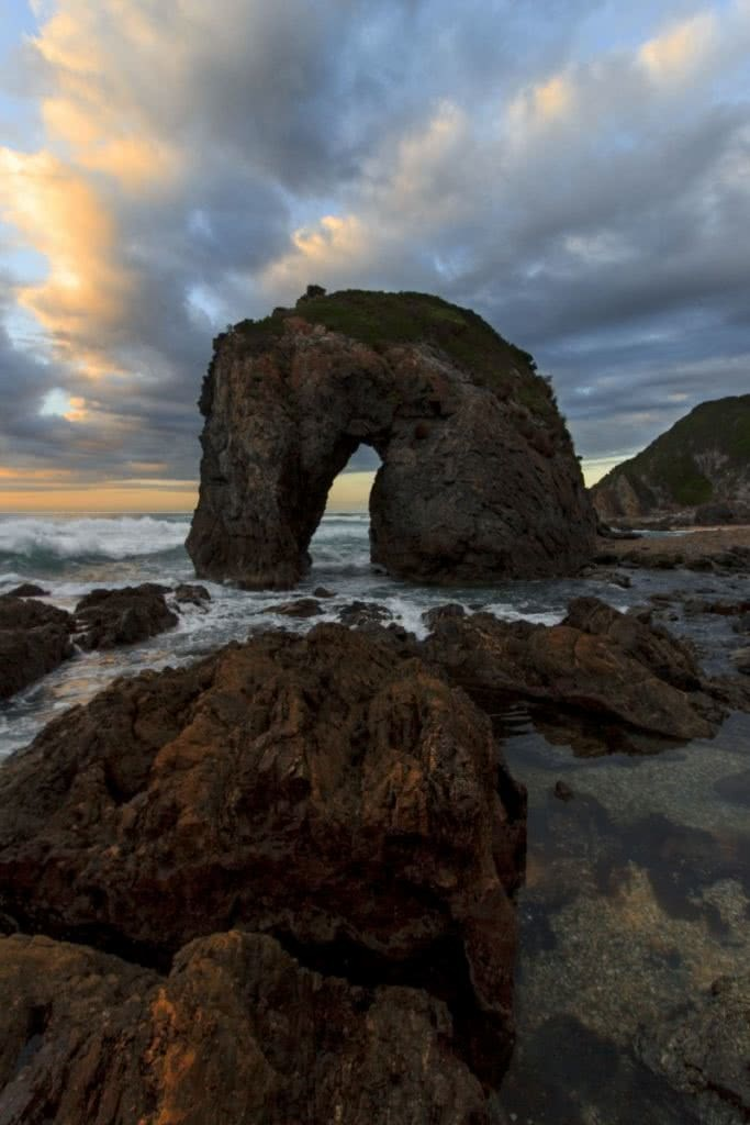 Lachy Firmstone Bermagui Horsehead Rock, Camel Rock, sunrise south coast nsw