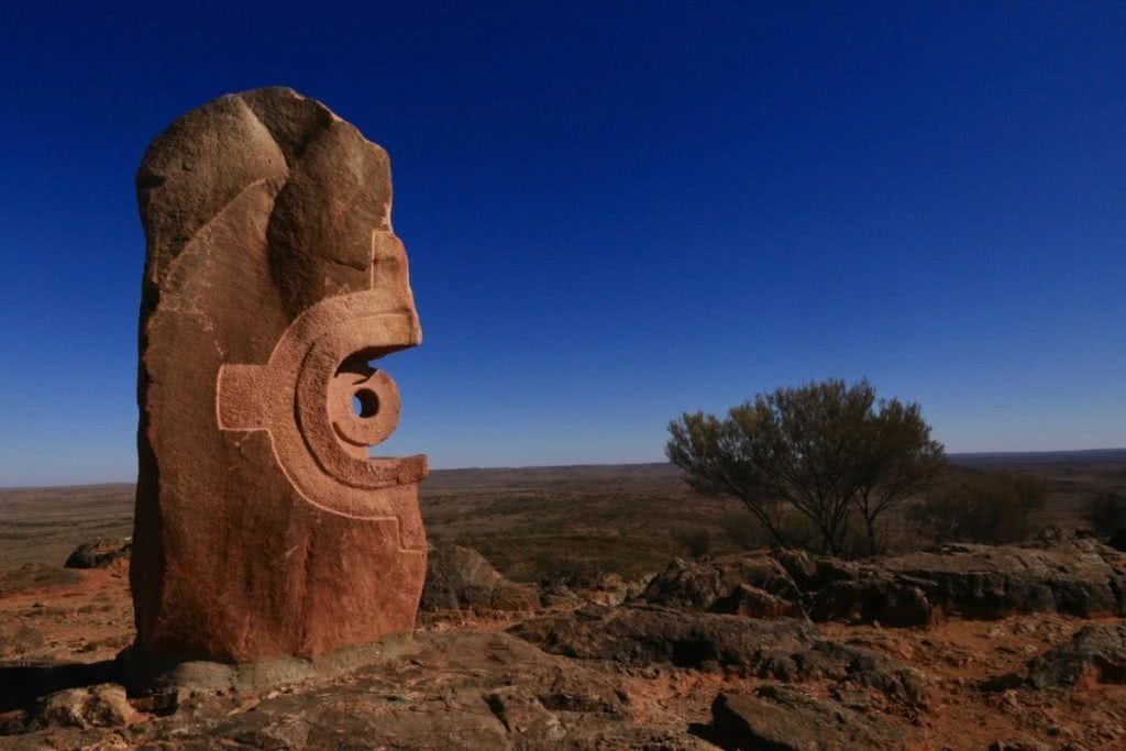 Outback and Back, Ross Clayton, NSW, Living Sculptures, Broken Hill, OUtback