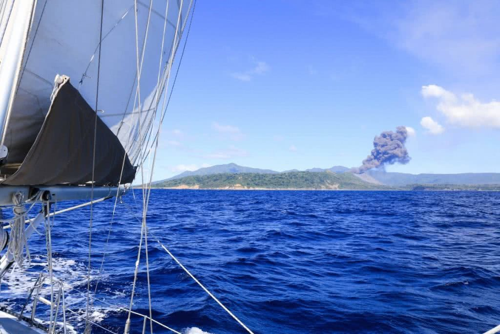 5 Lessons I Learnt from Sailing the Pacific Sailing the Pacific, Volcano Sail By - Lily Barlow