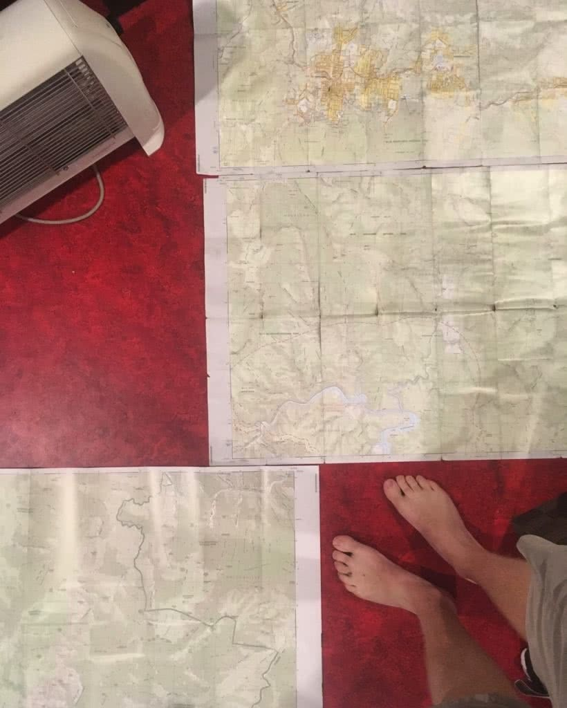K2K In A Day, Kanangra Walls, Sunrise, Kanangra-Boyd National Park, maps, planning