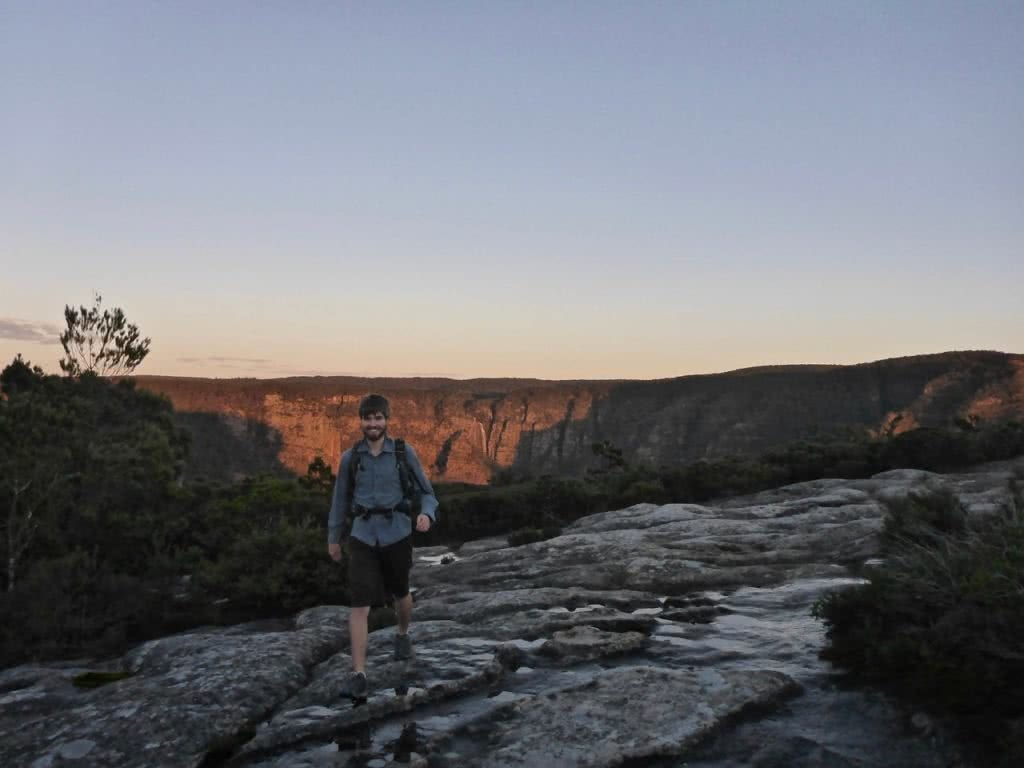 K2K In A Day, Kanangra Walls, Sunrise, Kanangra-Boyd National Park, hiker, trek, Mike,
