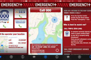 Emergency+ app, australian government, triple zero