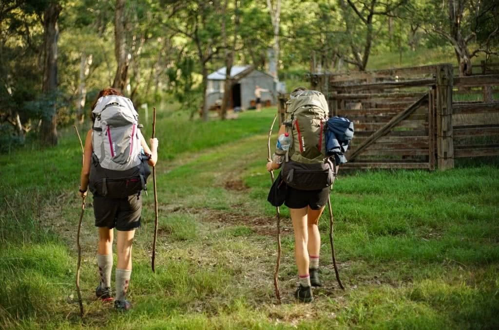 Green Gully Track, Oxley Wild Rivers National Park, NSW, multi-day hike, hut to hut, hiking packs