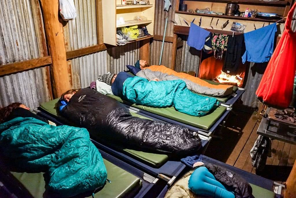 Green Gully Track, Oxley Wild Rivers National Park, NSW, multi-day hike, hut to hut, hut, stretcher, sleeping bag