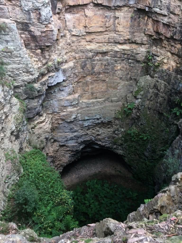 5 Epic NSW National Parks You've Probably Never Heard Of Tim Ashelford The Big Hole, Deua National Park, NSW, Mark Davies, geology, rocks, cave, deep
