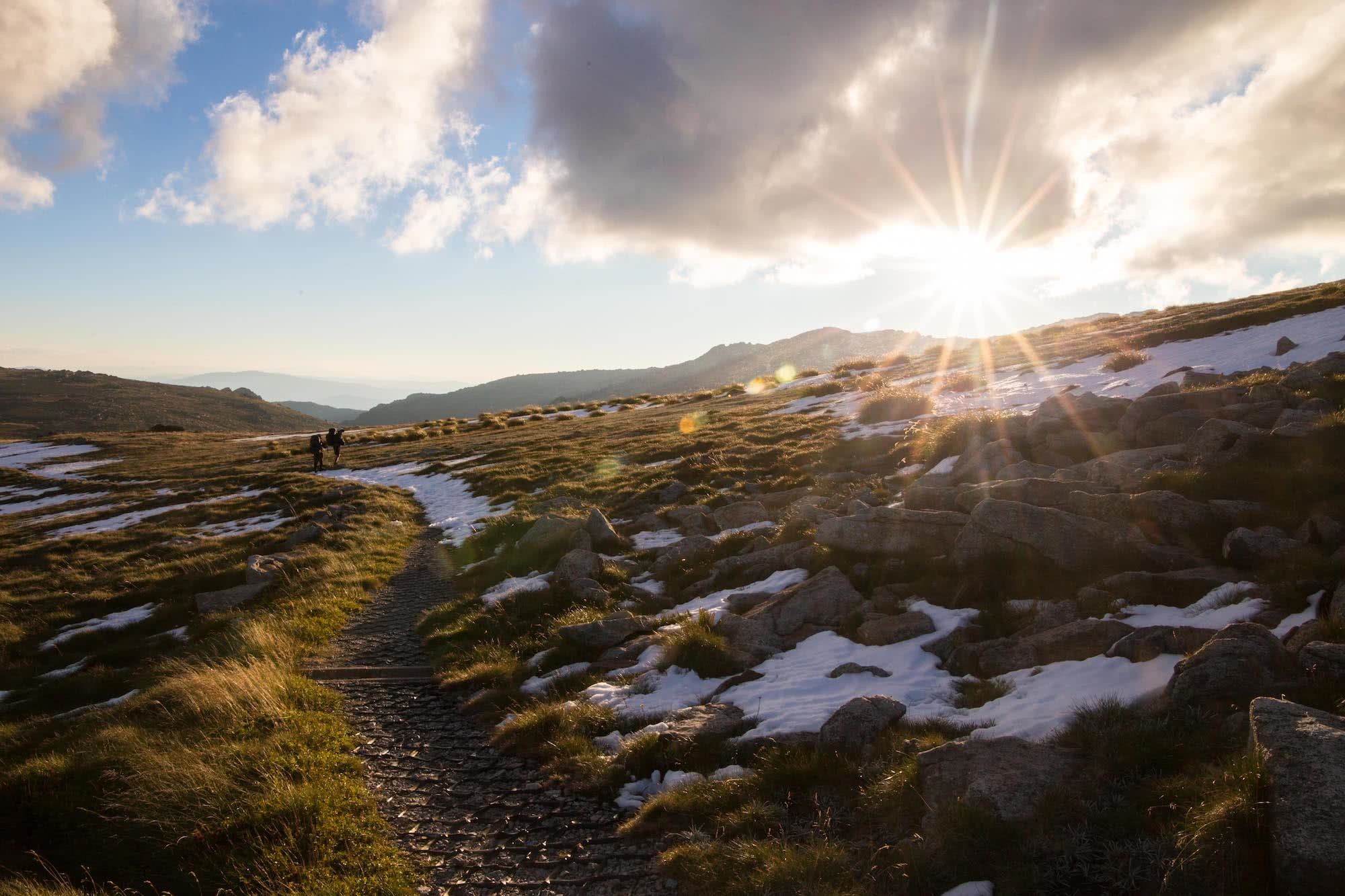 Overnighting On The Main Range // Kosciuszko National Park (NSW), Rachel Dimond, Main Range Kosciuszko snow winter mountains, sunlight